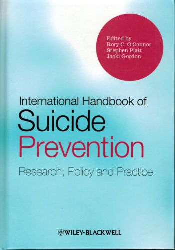 Image for International Handbook of Suicide Prevention: Research, Policy and Practice
