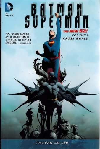Image for Batman/Superman Vol. 1: Cross World (The New 52)