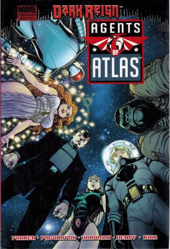 Image for Agents of Atlas: Dark Reign (Marvel Premiere Editions)