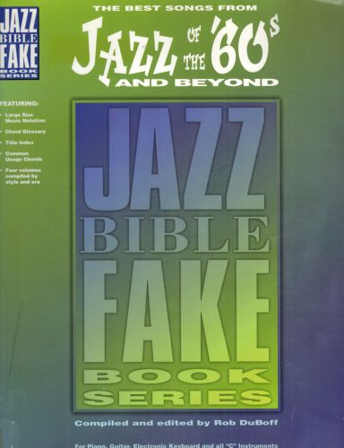 Image for Jazz of the '60s & Beyond: Jazz Bible Series (Fake Book)