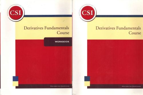 Image for Derivatives Fundamentals Course & Workbook
