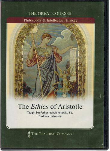 Image for The Ethics of Aristotle (6 DVDs)  The Great Courses - Philosophy & Intellectual History