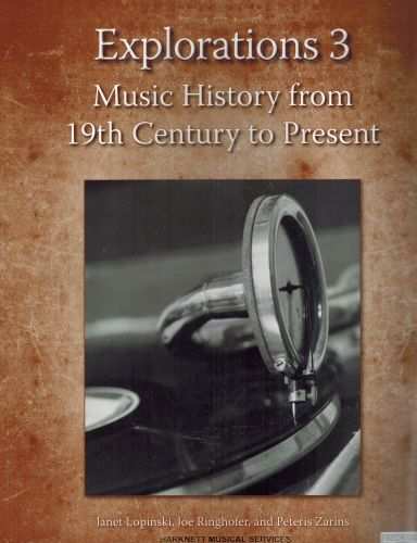 Image for Explorations 3 - Music History from 19th Century to Present