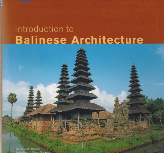Image for Introduction to Balinese Architecture (Periplus Asian Architecture Series)