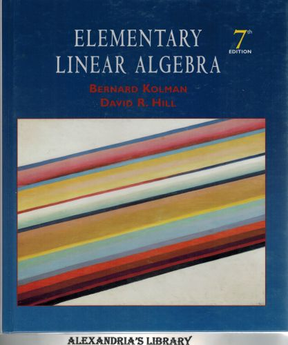 Image for Elementary Linear Algebra (7th Edition)