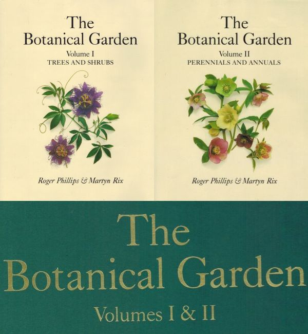 Image for The Botanical Garden Trees and Shrubs (Vol 1)  Perennial and Annuals (Vol II)