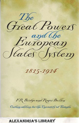Image for The Great Powers and the European States System, 1815-1914