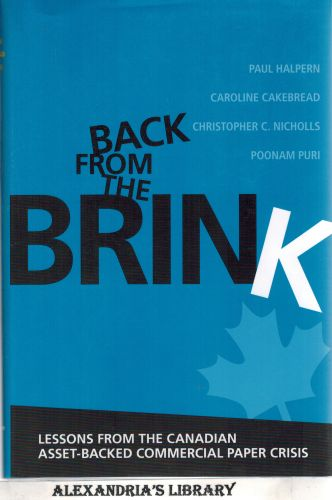 Image for Back from the Brink: Lessons from the Canadian Asset-Backed Commercial Paper Crisis