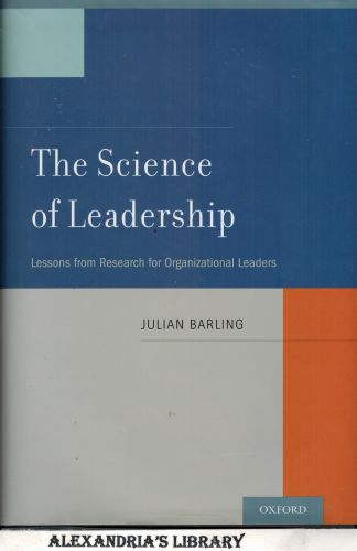 Image for The Science of Leadership: Lessons from Research for Organizational Leaders (Signed)