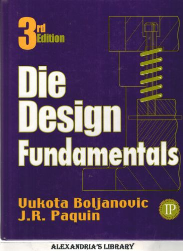 Image for Die Design Fundamentals 3rd Edition