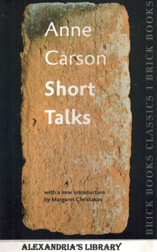 Image for Short Talks: Brick Books Classics 1