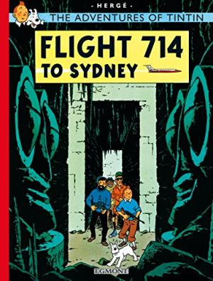 Image for Tintin Flight 714 (The Adventures of Tintin)