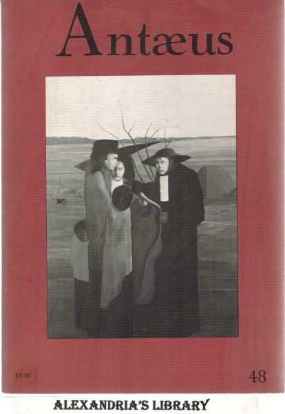 Image for Antaeus. Winter 1983. Number 48