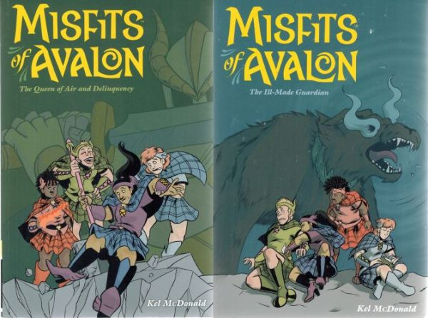 Image for Misfits of Avalon Volume 1: The Queen of Air and Delinquency &  Volume 2: The Ill-made Guardian