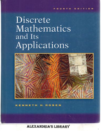 Image for Discrete Mathematics and Its Applications 4e