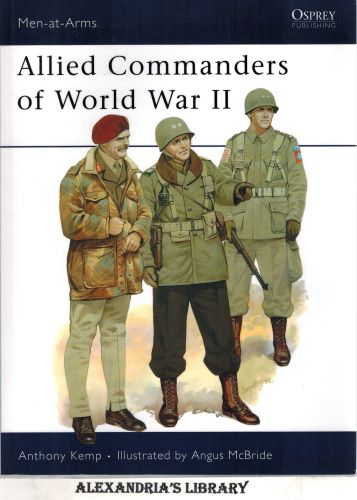 Image for Allied Commanders of World War II (Men-at-Arms 120)