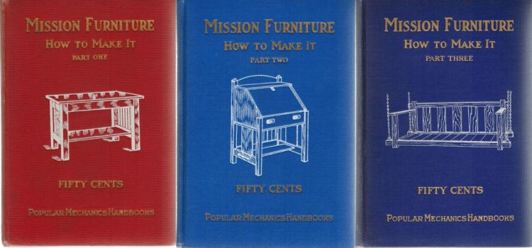 Image for Mission Furniture: How to Make It - Parts 1-3 Complete