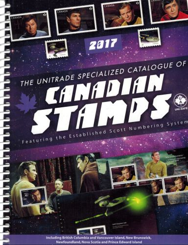 Image for The Unitrade Spoecialized Catalogue of Canadian Stamps 2017