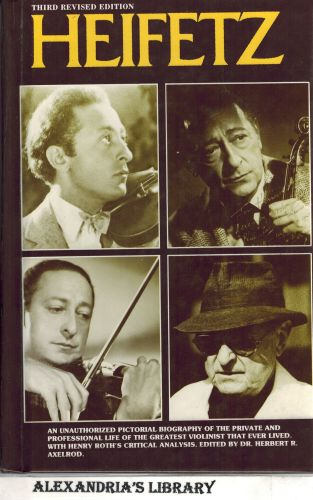 Image for Heifetz (Third Revised Edition)