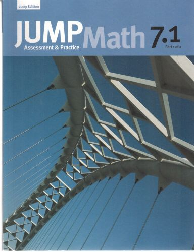 Image for JUMP Math 7.1: Book 7, Part 1 of 2