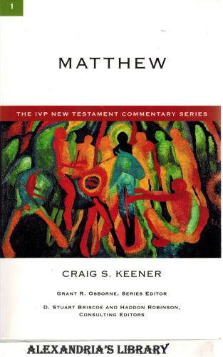 Image for Matthew (The IVP New Testament Commentary Series)