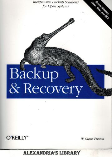 Image for Backup & Recovery: Inexpensive Backup Solutions for Open Systems