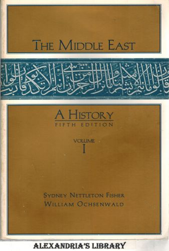Image for The Middle East: A History: Volume I - 5e