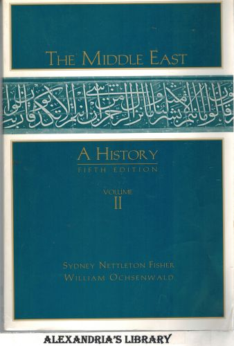 Image for The Middle East: A History, Volume. II, 5 e