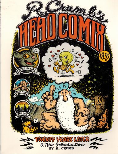 Image for R. Crumb's Head Comix: Twenty Years Later