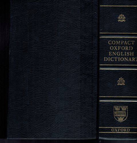 Image for Compact Oxford English Dictionary (Third Edition Revised)
