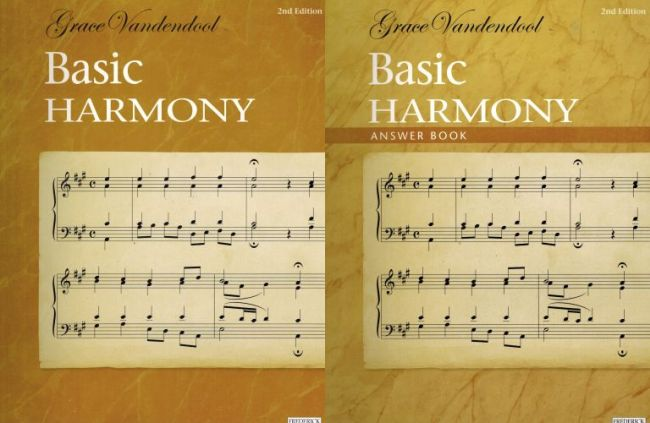Image for Basic Harmony & Answer Book - 2nd Edition
