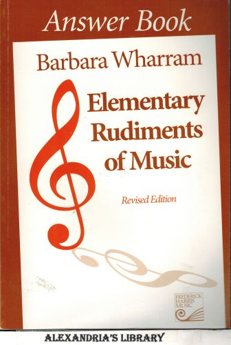 Image for Elementary Rudiments of Music Answer Book, Revised Edition
