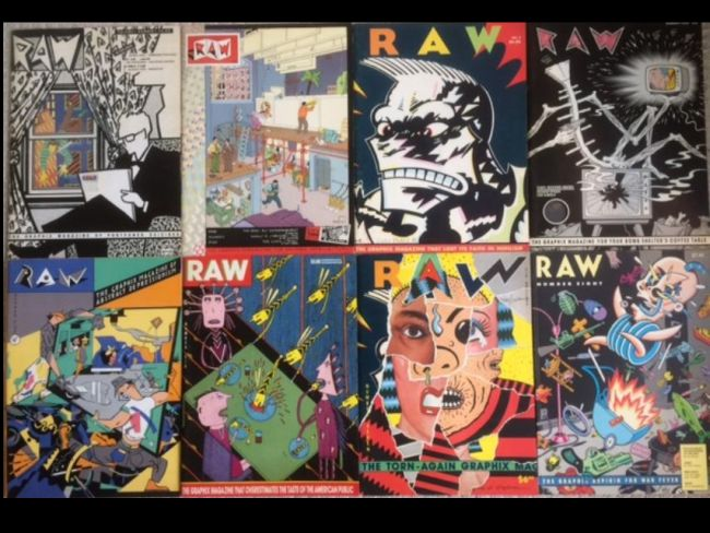Image for RAW - The Graphix Magazine, Issues 1 - 8  (Signatures)