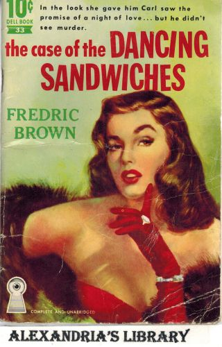 Image for The Case Of The Dancing Sandwiches