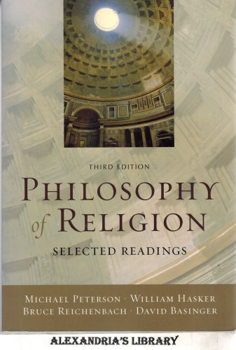 Image for Philosophy of Religion: Selected Readings 3e
