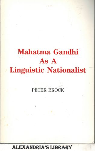 Image for Mahatma Gandhi as a Linguistic Nationalist