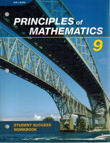 Image for Nelson Principles of Mathematics 9: Student Success Workbook