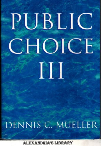 Image for Public Choice III