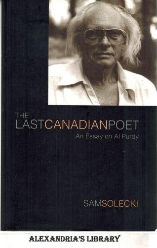 Image for The Last Canadian Poet: An Essay on Al Purdy