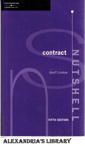 Image for Lawbook Co. Nutshell Contract - 5th Edition