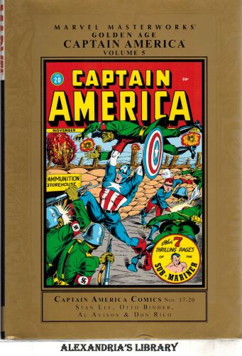 Image for Marvel Masterworks: Golden Age Captain America 5