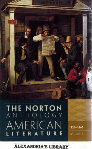 Image for The Norton Anthology of American Literature, 1820-1865 Vol. B