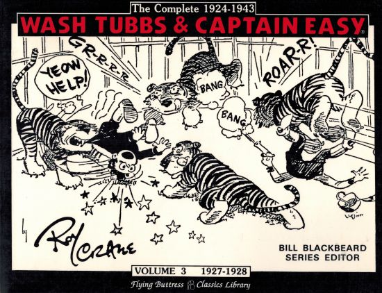 Image for Wash Tubbs and Captain Easy: Volume 3 -1927-1928