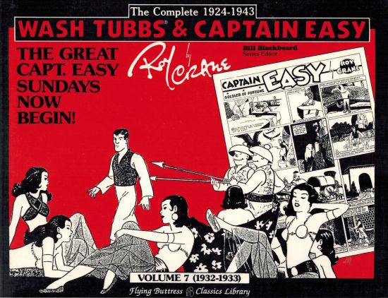 Image for Wash Tubbs & Captain Easy Volume 7 - (1932-1933)