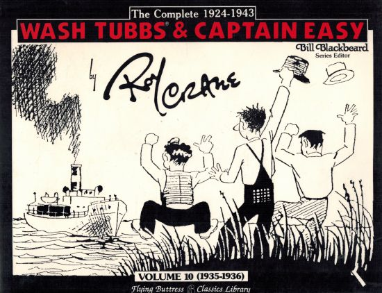 Image for Wash Tubbs and Capt. Easy, Vol. 10 1935 to 1936