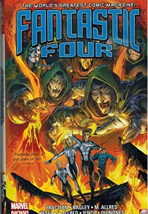 Image for Fantastic Four by Matt Fraction Omnibus