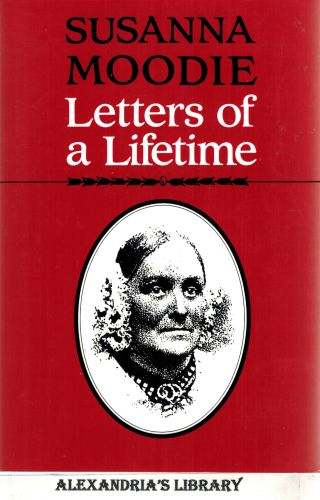 Image for Susanna Moodie: Letters of a Lifetime (Heritage)