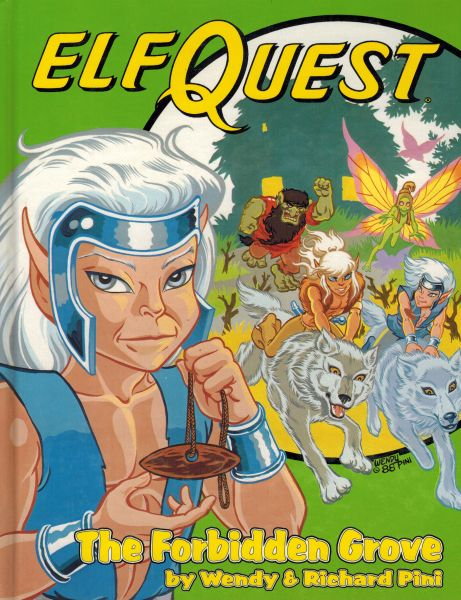 Image for The Forbidden Grove (Elfquest Graphic Novel)