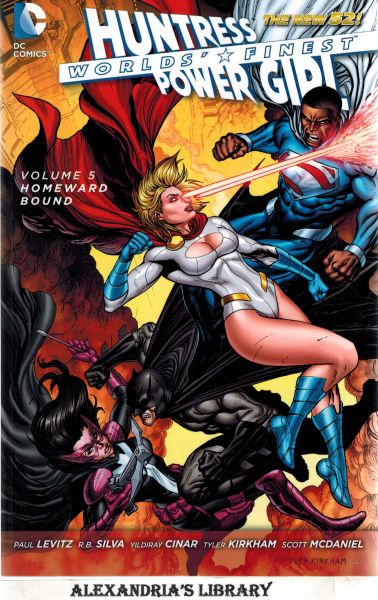 Image for Worlds' Finest Vol. 5: Homeward Bound (The New 52) (World's Finest: The New 52!)