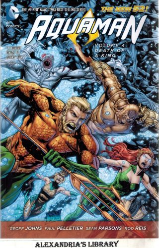 Image for Aquaman Vol. 4: Death of a King (The New 52)